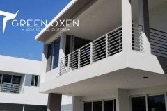 Condominium Horizontal Balcony Railing   Sarasota, Florida