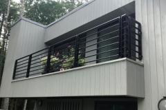 Epulum Residential Balcony Railing   Albany, New York