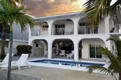 Waterfront Residential Horizontal Balcony Railing   Big Pine Key, Florida