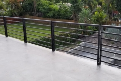 Black residential Balcony Railing   Lauderdale by the Sea, Florida