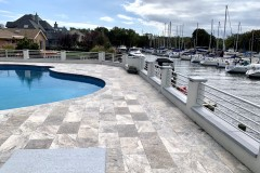 Waterfront Deck Railing Project