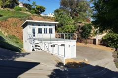 Green-Oxen-Residential-Garage-Deck-Railing-Project