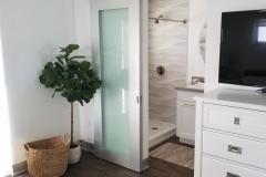 Modern Aluminum Barn Door