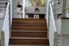 Horizontal Aluminum Stair Railing |  Key West