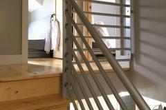 Residential Modern Stair Railing | Delaware