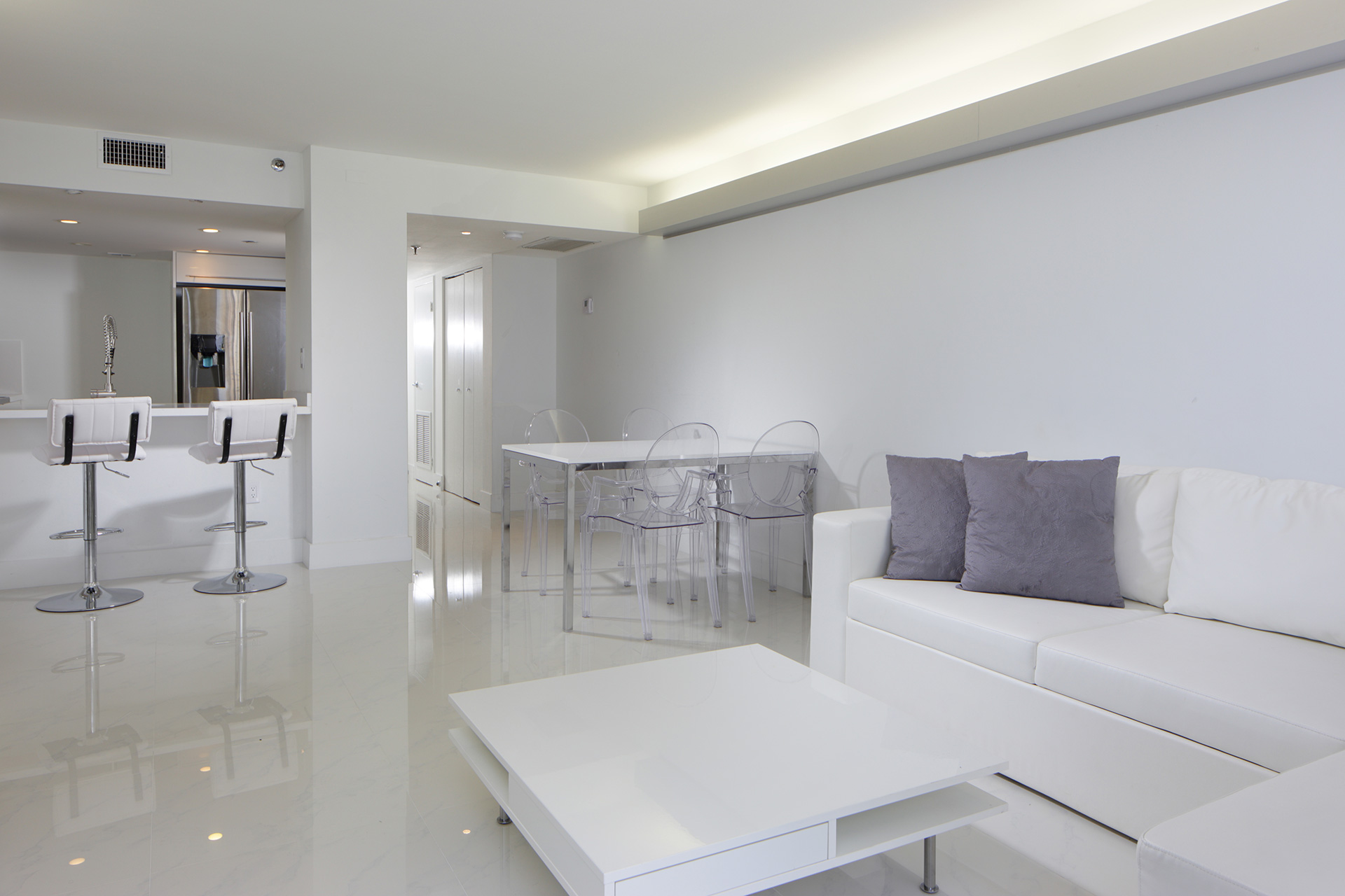 modern indirect wall lighting