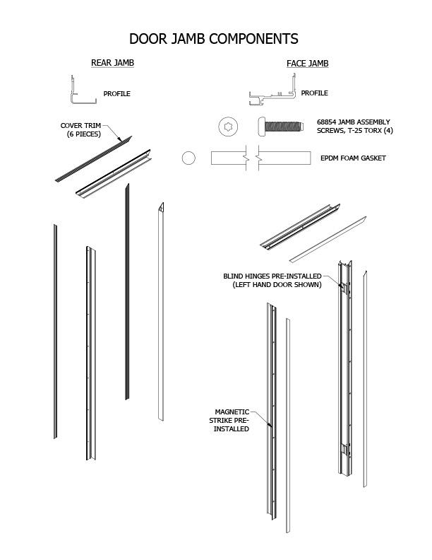 koli door installation step 1