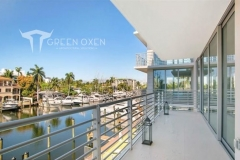 Epulum Modern Horizontal Balcony Railing | Fort Lauderdale, Florida
