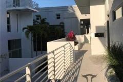 Modern Horizontal  Condo Balcony Railing  |  Sarasota Florida