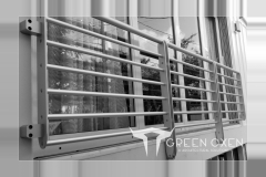 Modern Juliet Balcony Railing | South Florida