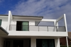 Black residential Balcony Railing | Lauderdale by the Sea, Florida