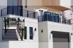 Condominium Modern Balcony Railing | Cocoa Beach, Florida