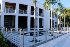 Residential aluminum balcony railing | Boca Raton , Florida