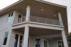Silver Residential Balcony Railing | Central Florida