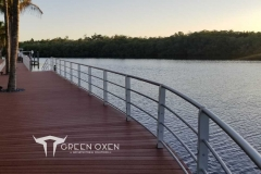 Epulum Curved Dock Railing | Fort Meyers, Florida