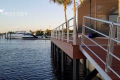 Epulum Anodized Silver Dock Railing | Fort Meyers, Florida